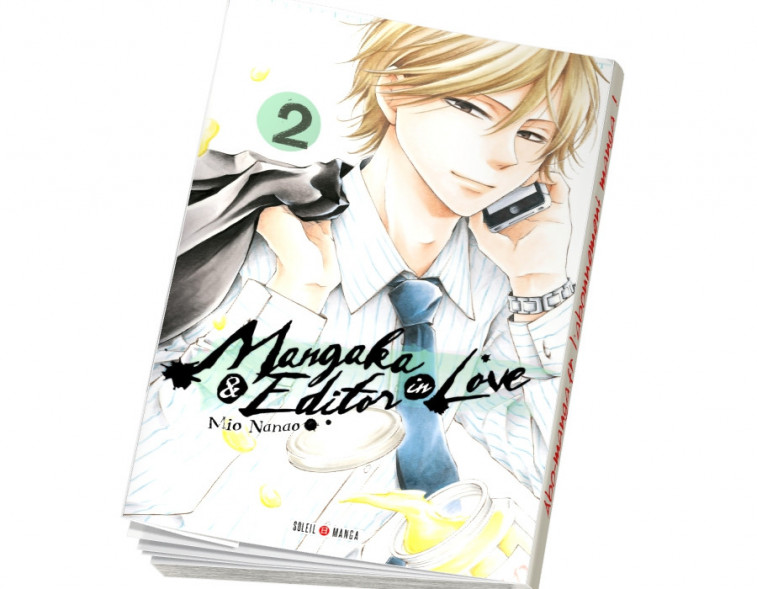 Abonnement Mangaka and Editor in Love tome 2