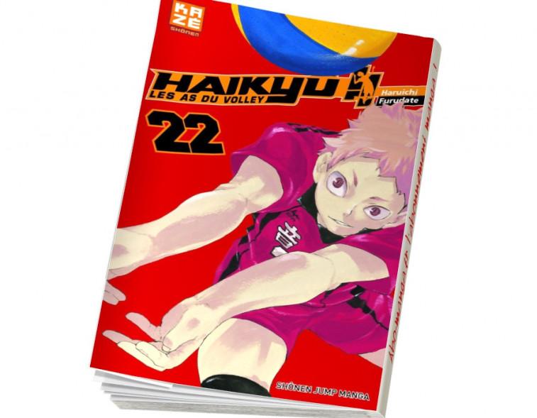 Abonnement Haikyu !! - Les As du volley tome 20