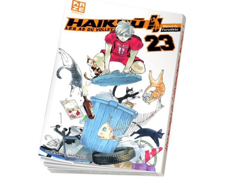 Abonnement Haikyu !! - Les As du volley tome 21