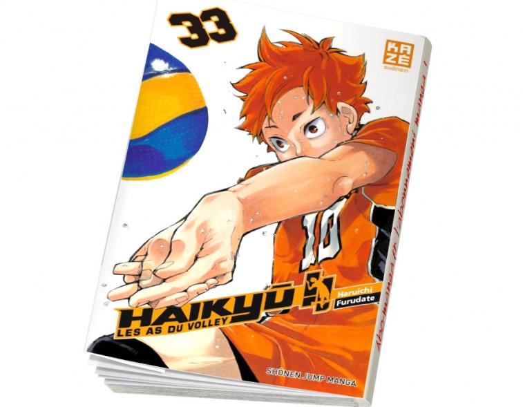 Abonnement manga Haikyu les as du volley