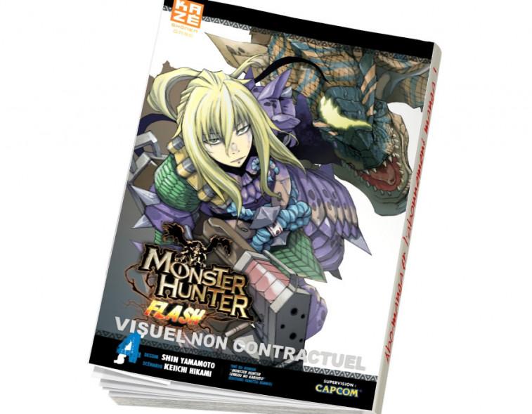 Abonnement Monster Hunter Flash tome 4
