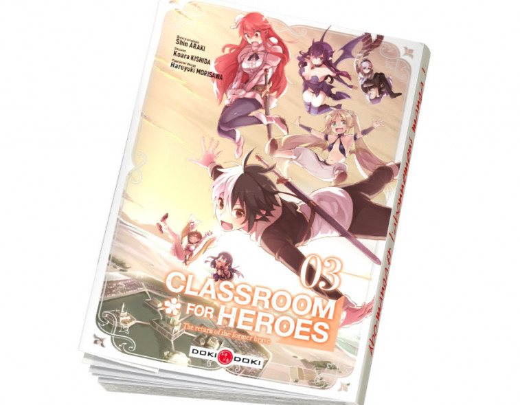 Abonnement Classroom for heroes tome 3
