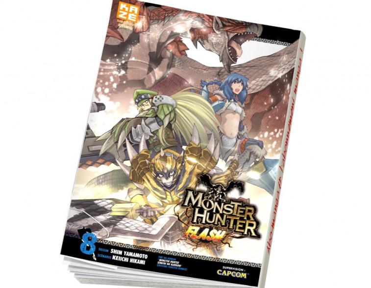 Abonnement Monster Hunter Flash tome 8