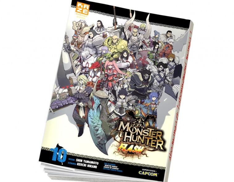 Abonnement Monster Hunter Flash tome 10