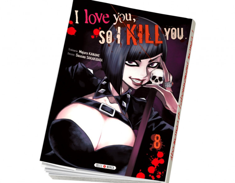Abonnement I love you so I kill you tome 8
