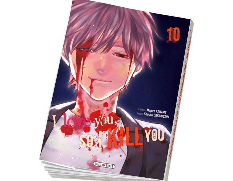Abonnement I love you so I kill you tome 10