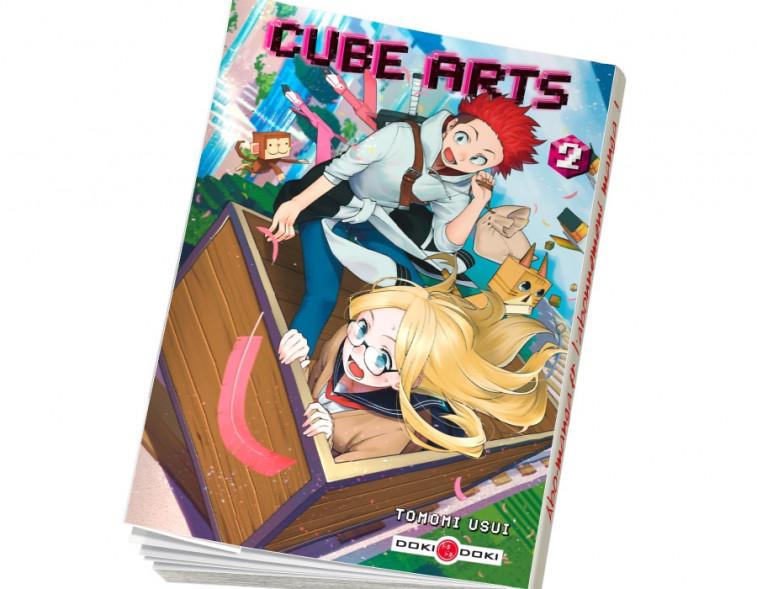 Abonnement Cube arts tome 2