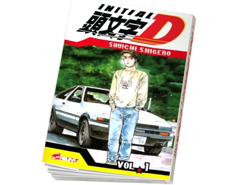 Abonnement Initial D tome 1