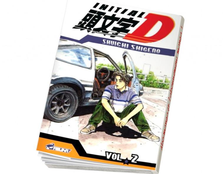 Abonnement Initial D tome 2