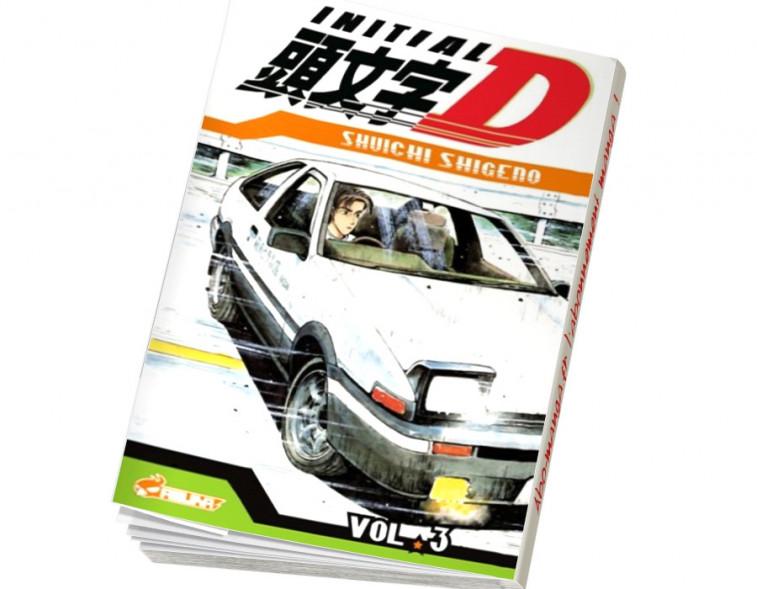 Abonnement Initial D tome 3