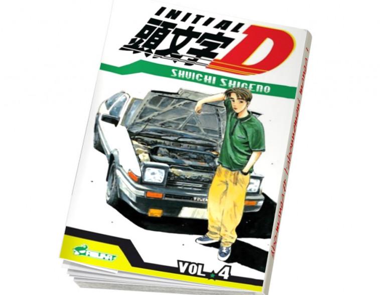 Abonnement Initial D tome 4
