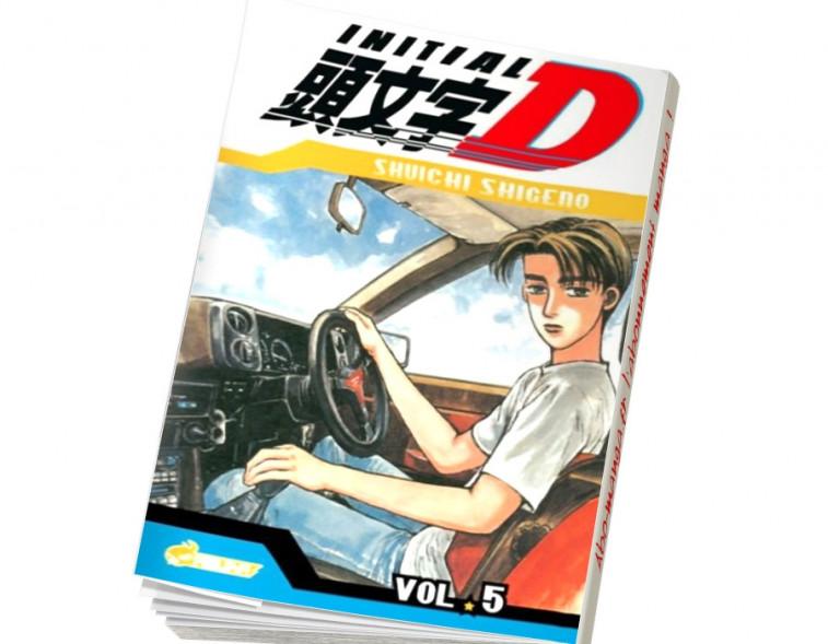 Abonnement Initial D tome 5
