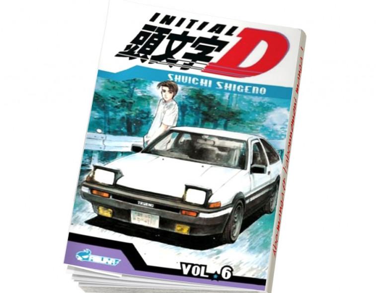 Abonnement Initial D tome 6