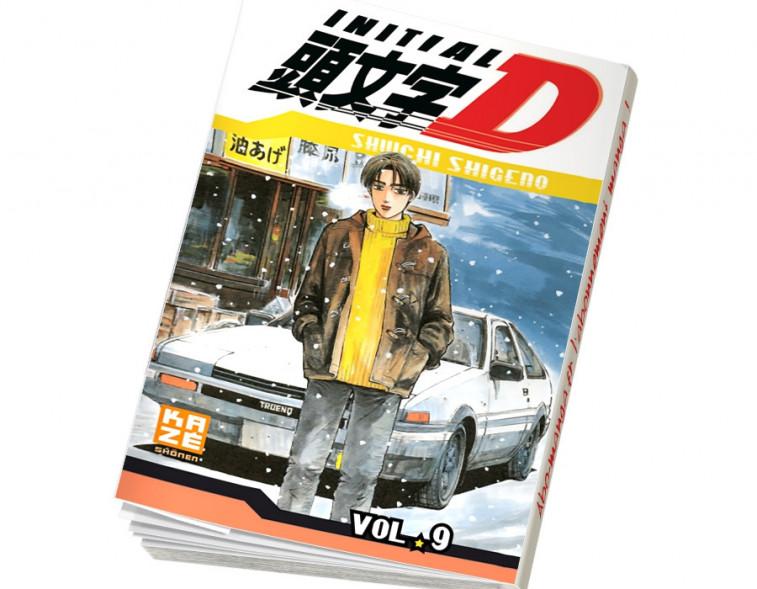 Abonnement Initial D tome 9