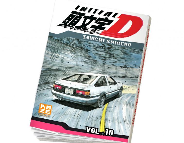 Abonnement Initial D tome 10