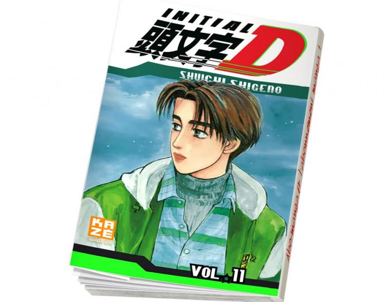 Abonnement Initial D tome 11
