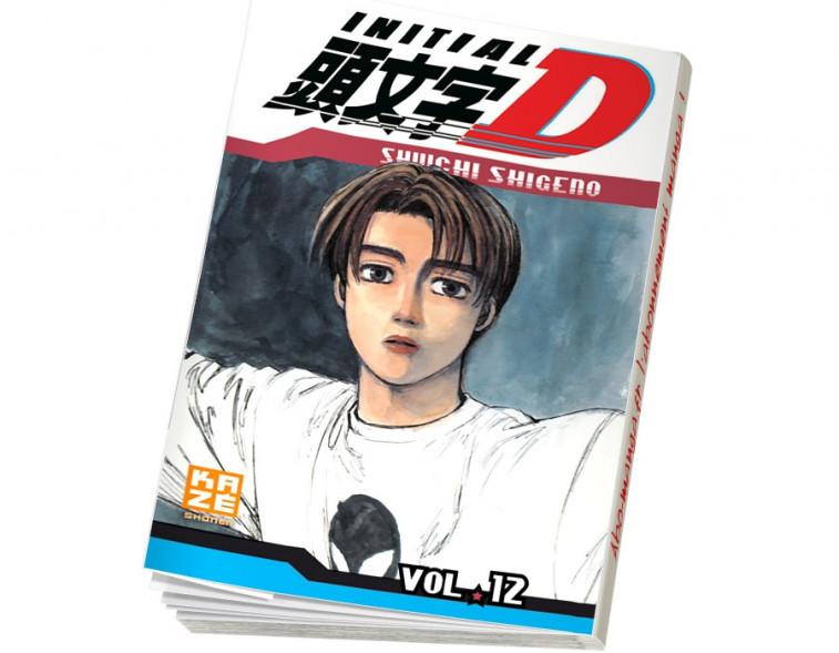 Abonnement Initial D tome 12
