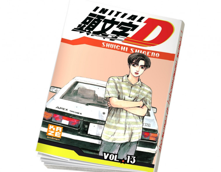 Abonnement Initial D tome 13