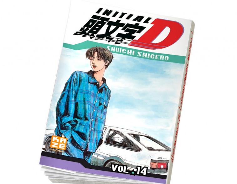 Abonnement Initial D tome 14