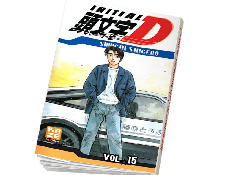 Abonnement Initial D tome 15