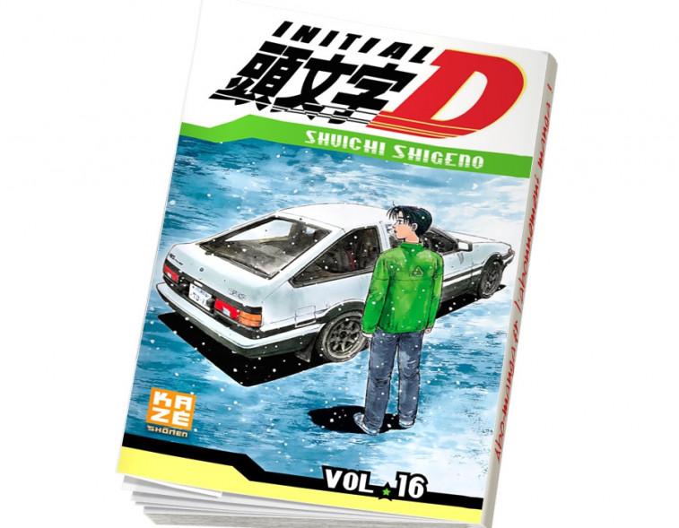 Abonnement Initial D tome 16