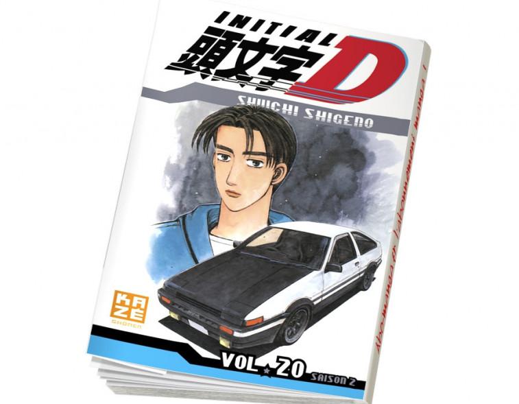 Abonnement Initial D tome 20