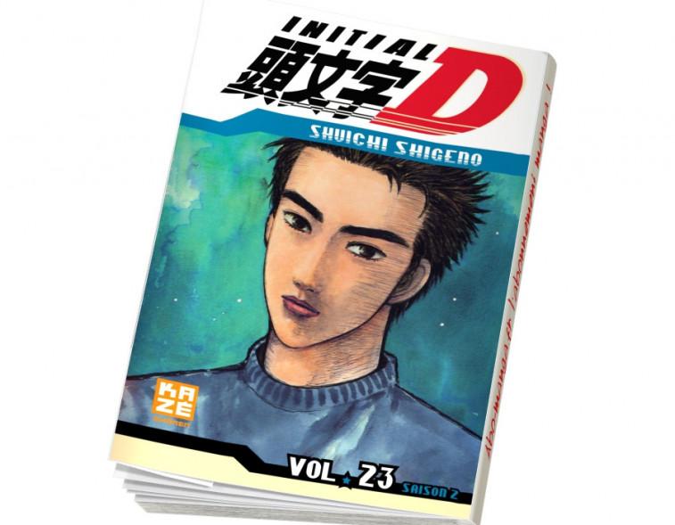 Abonnement Initial D tome 23