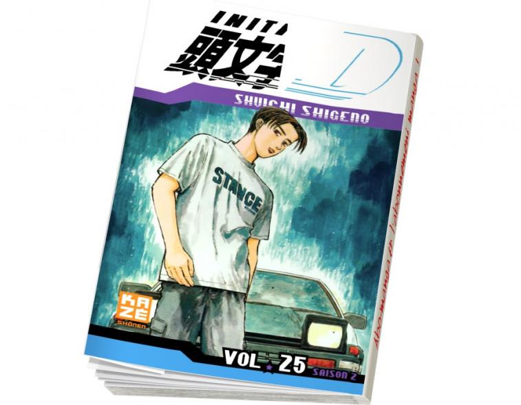 Abonnement Initial D tome 25