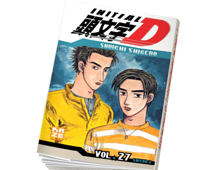Abonnement Initial D tome 27