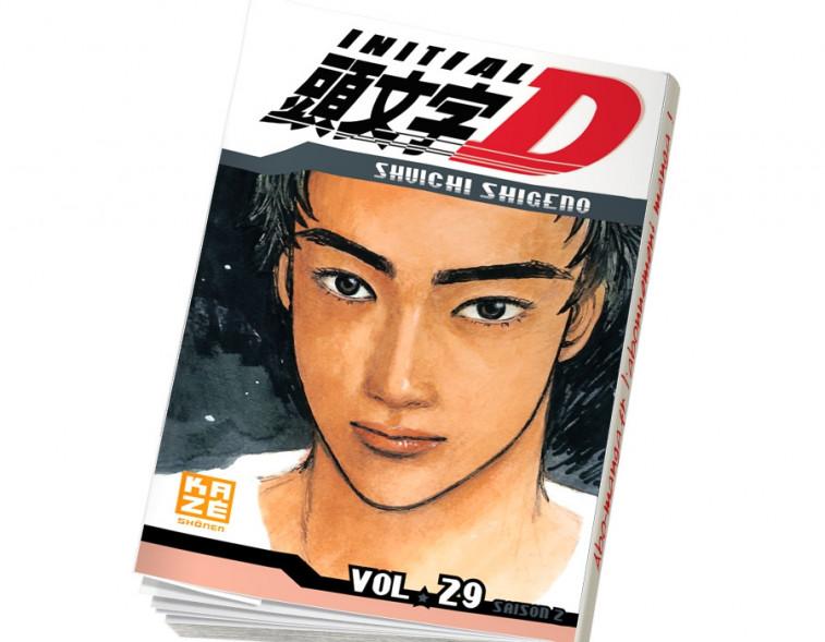 Abonnement Initial D tome 29