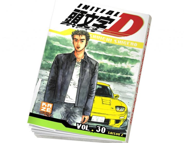 Abonnement Initial D tome 30