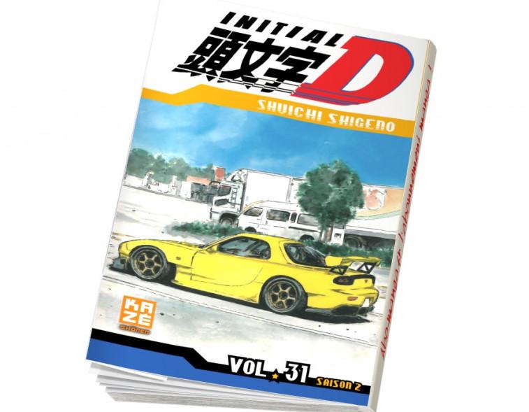 Abonnement Initial D tome 31