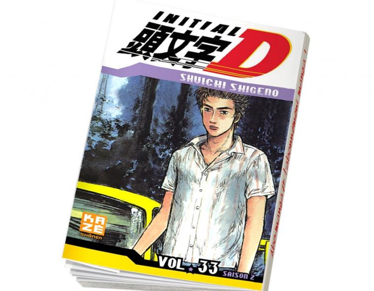 Abonnement Initial D tome 33