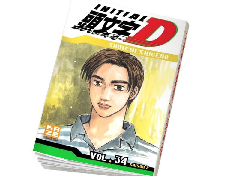Abonnement Initial D tome 34
