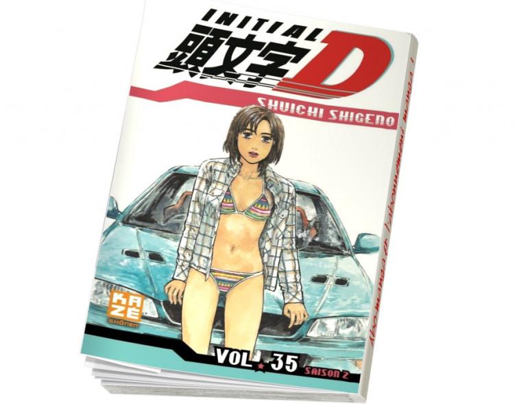 Abonnement Initial D tome 35