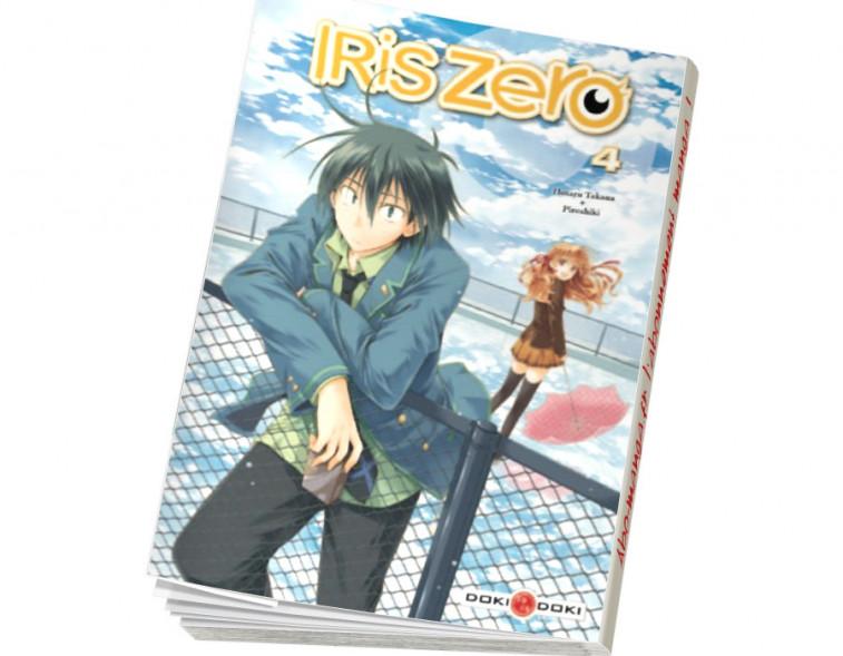 Abonnement Iris Zero tome 4