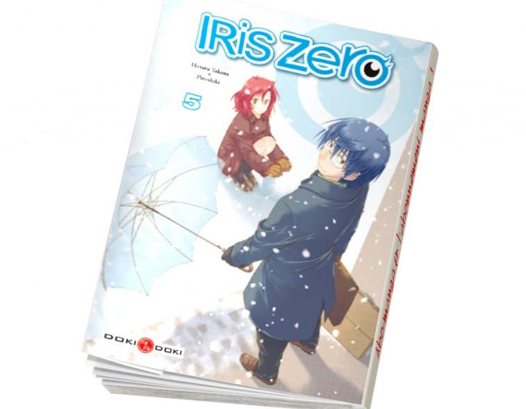 Abonnement Iris Zero tome 5
