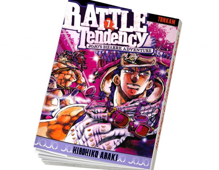 Abonnement Jojo's - Battle Tendency tome 7