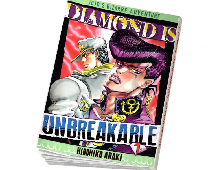 Abonnement Jojo's - Diamond is Unbreakable tome 1