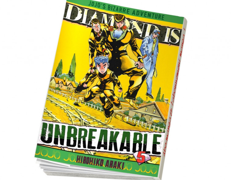 Abonnement Jojo's - Diamond is Unbreakable tome 5