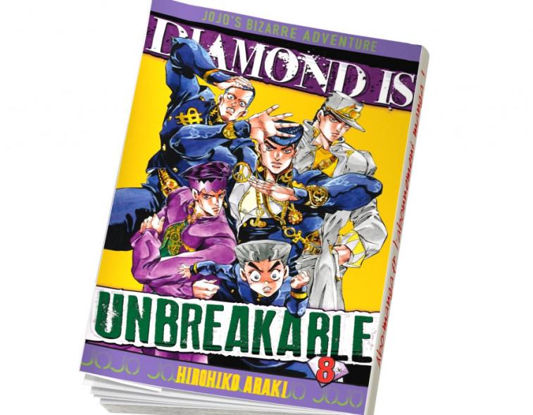 Abonnement Jojo's - Diamond is Unbreakable tome 8
