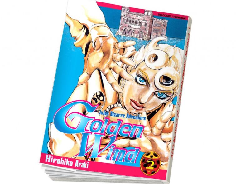 Abonnement Jojo's - Golden Wind tome 2