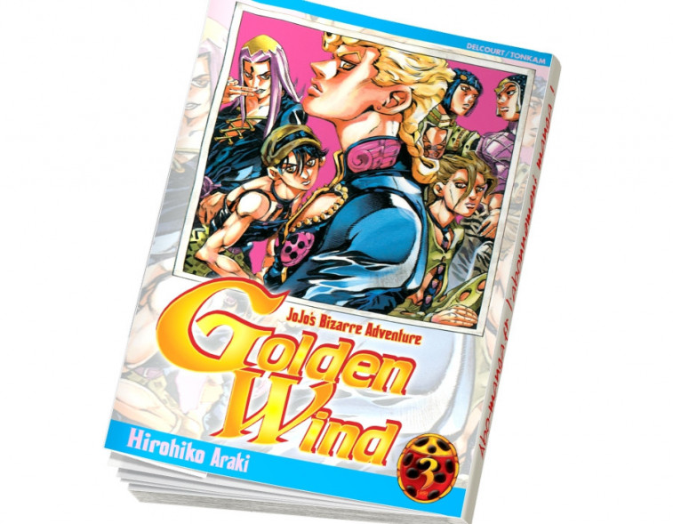 Abonnement Jojo's - Golden Wind tome 3