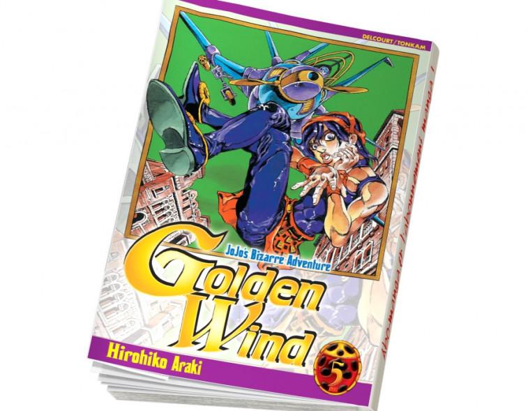 Abonnement Jojo's - Golden Wind tome 5