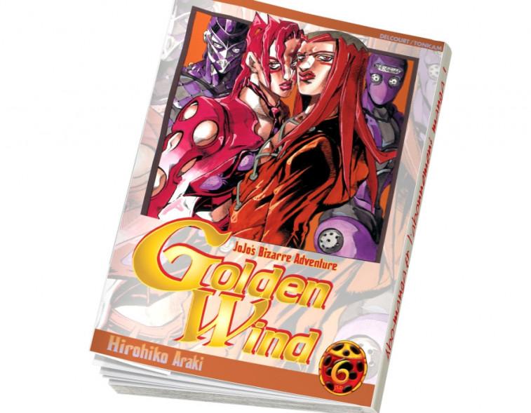 Abonnement Jojo's - Golden Wind tome 6