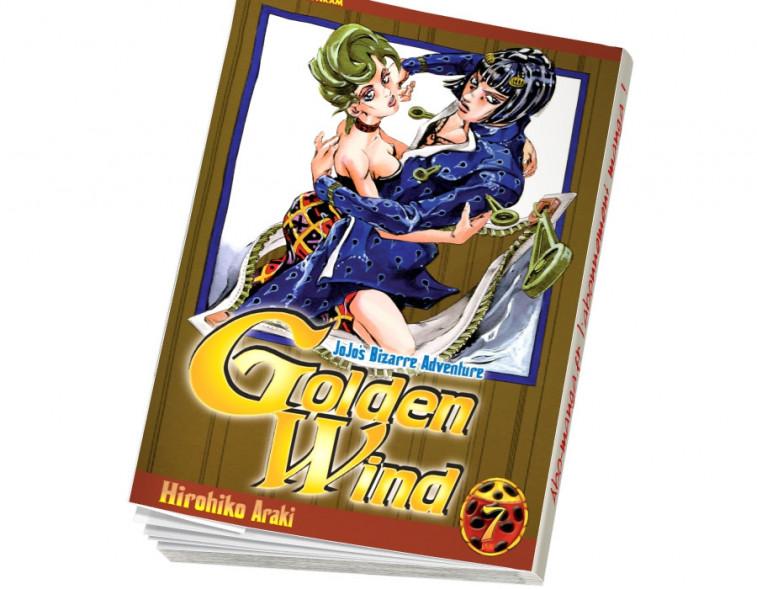 Abonnement Jojo's - Golden Wind tome 7