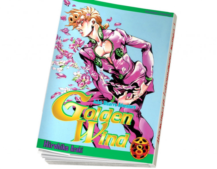 Abonnement Jojo's - Golden Wind tome 8