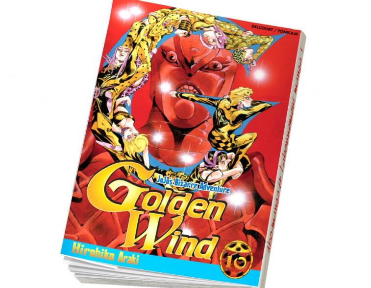 Abonnement Jojo's - Golden Wind tome 10