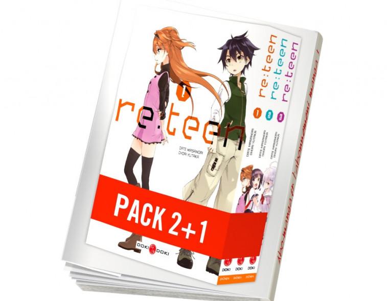Abonnement Re:Teen - pack série - 1 vol. offert