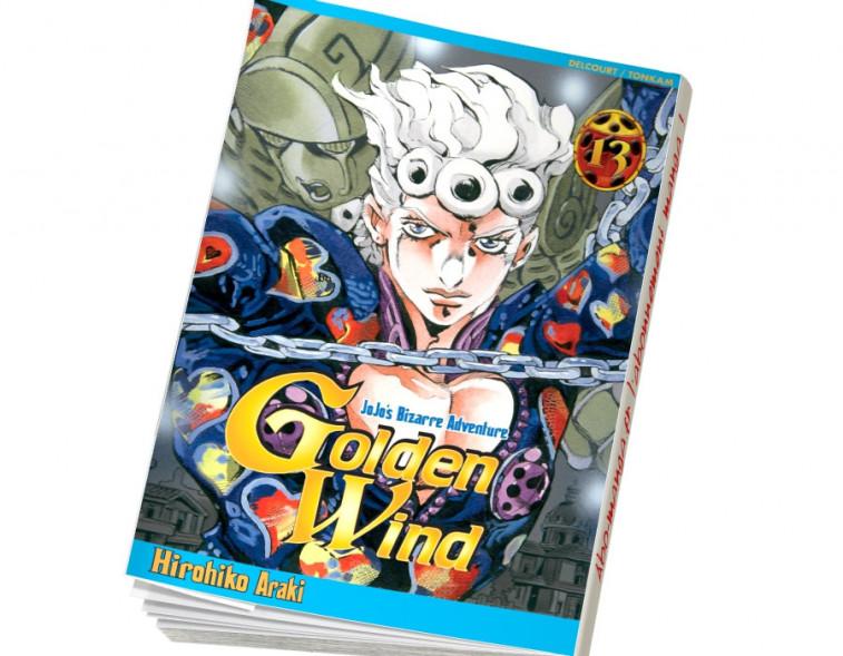 Abonnement Jojo's - Golden Wind tome 13